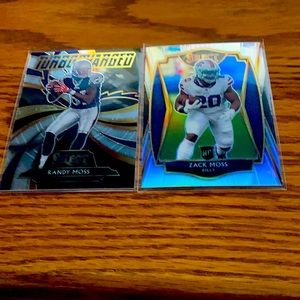 Moss bundle football cards